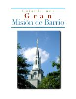 Guiando una Gran Obra Misional de Barrio