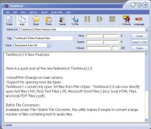 TextAloud //Aplicación práctica para utlizarla en la lectura por voz de nuestros libros, escrituras, discursos, manuales etc.