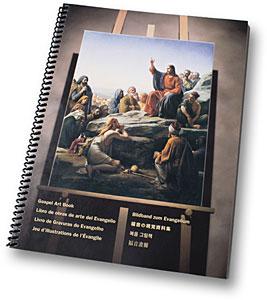 Libro de obras de arte del Evangelio