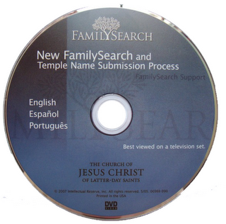 DVD New.Family Search