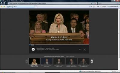 Charla Fogonera SEI : Hna. Elaine S. Dalton