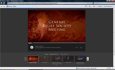 Reunión General de la Sociedad de Socorro 2009