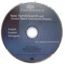 Family Search DVD la nueva forma de mandar nombres al templo