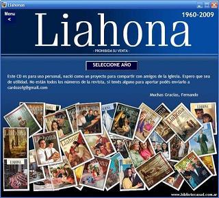 Colección Revistas Liahona 1960-2009-CD