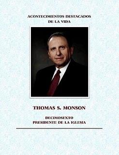 CUMPLEAÑOS DE THOMAS S. MONSON